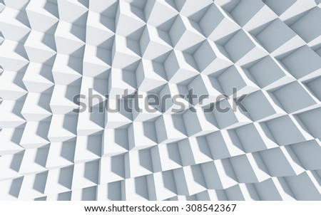 3d monochrome background with cubes, art, concept, background