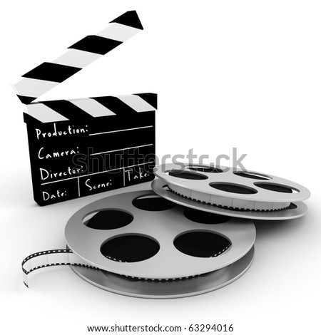 Palabras encadenadas - Página 3 Stock-photo--d-movie-objects-clipper-and-reel-roll-63294016
