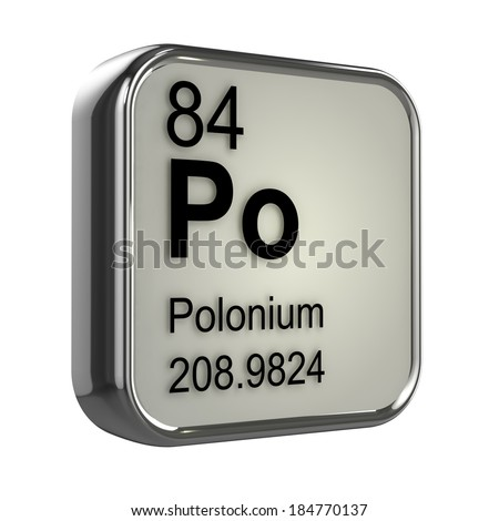 Atomic Number 84 Element
