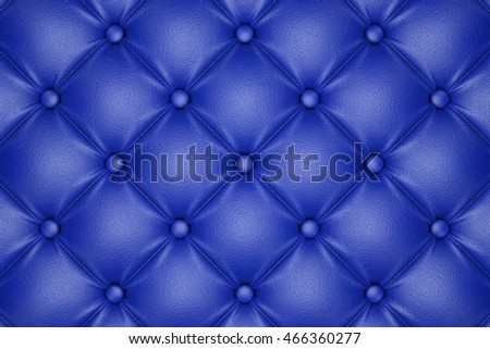 3D render of the blue quilted leather pattern
