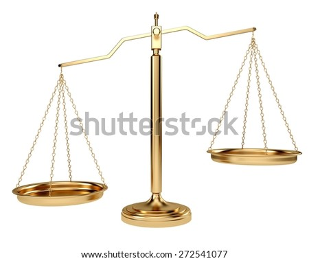 3D. Scales of Justice, Weight Scale, Law.