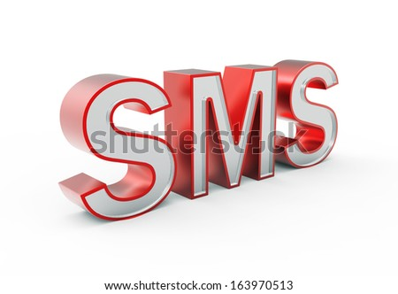 3d Sms icon