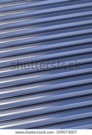 3d steel background with tube