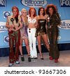 08DEC97:  THE SPICE GIRLS at the Billboard Music Awards at the MGM Grand in Las Vegas. - stock photo