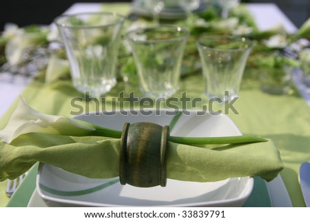 """decoration-table-green"""