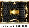 external registration booklet design in royal stiletto - stock vector