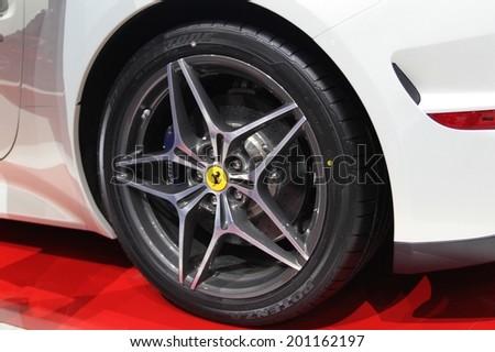 Generic Sport Elegant Black Car Illuminated Stock Illustration 110263946 Shutterstock