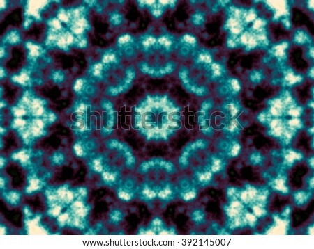 Fractal artwork for creative design. Abstract geometric background in tiedye style.