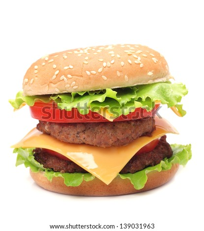 Fresh hamburger