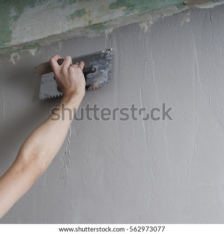 how to work with plaster textured walls