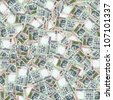 100 Indian rupees high resolution seamless texture/Indian money seamless texture - stock photo