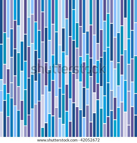 (Jpg) Abstract vertical stripes design in cool colours. A vector version is also available