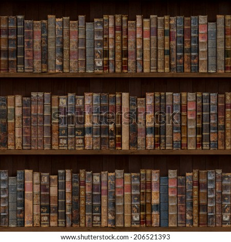Historic Old Books Old Library Stock Photo 75929290 - Shutterstock