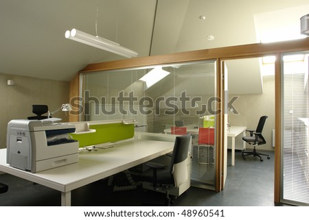 office in the attic