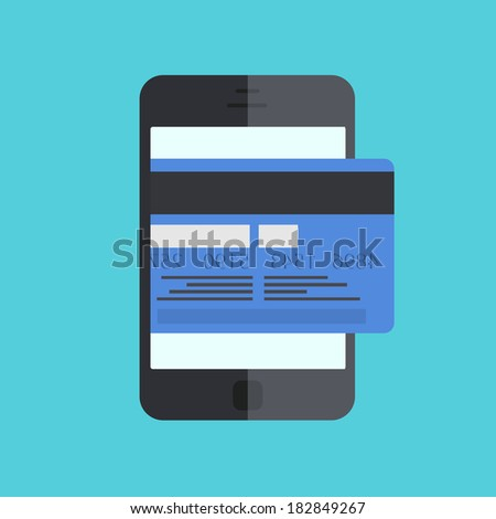 smartphone with mobile payment