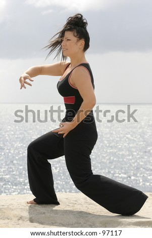 Tai chi is meant to balance the yin and yang life force energy of chi