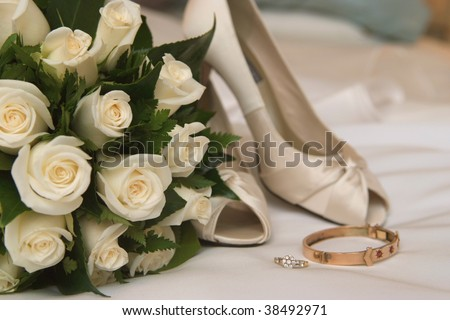 :  Wedding bouquet