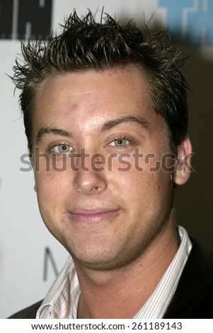 "02/25/2005 - West Hollywood - Lance Bass at the Trident White ""The Black and White Party"" to support The Film Foundation at the Mondrian Hotel."