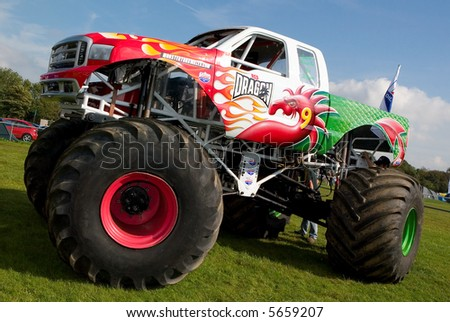 4x4 Monster Truck at UK Car Show