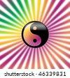 """ying & yang"" icon - stock vector"