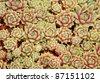 A background close up of garden sedum in the home perennial garden. - stock photo