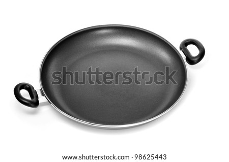 a casserole on a white background