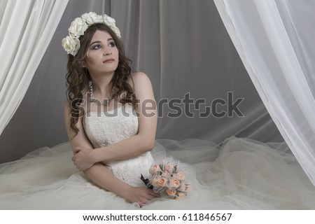Asian Bride Sits 81