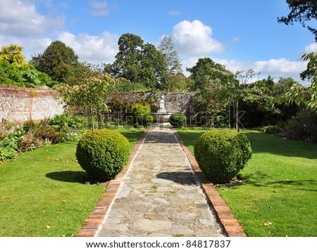 Japanese garden topiary stock photo 92303776 shutterstock for Formal japanese garden