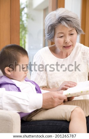 Books from grandma to grandson