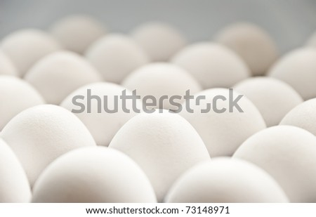 a lot of eggs as a background
