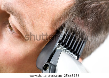 how to cut thick hair with clippers