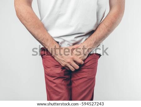 hurt his penis