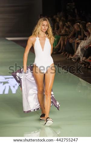 Sexy girl bikini on golf course stock photo 1067862 for Runway club miami