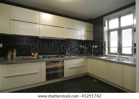 A roomy kitchen in modern European style.