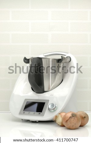 A studio photo of a kitchen food cooking appliance