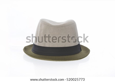 A stylish bowler hat
