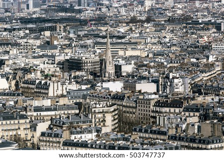A view of Paris.