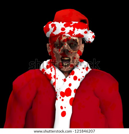 A Zombie father Christmas