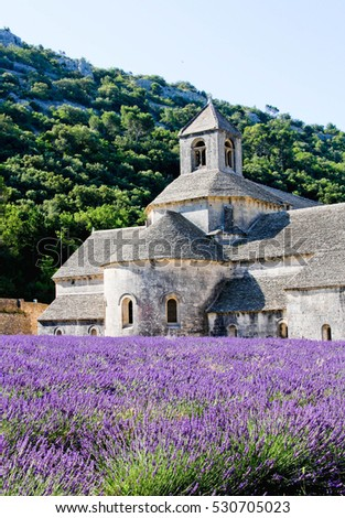 Abbey in Provence France