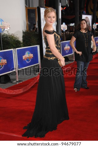 "Abbie Cornish at the world premiere of her new movie ""Elizabeth: The Golden Age"" at Universal Studios, Hollywood. October 2, 2007  Los Angeles, CA Picture: Paul Smith / Featureflash"
