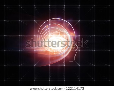 ... background for projects on science, technology and intelligent life in