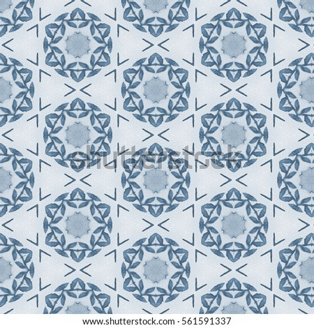 Seamless Ceramic Tile Colorful Patchwork Vintage Stock ...