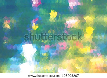 Abstract background - fantastic flowers.