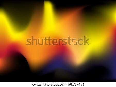 Abstract Background - Flames