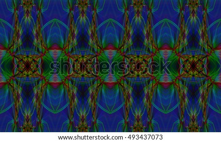Abstract background Laser light multicolored for design, pattern