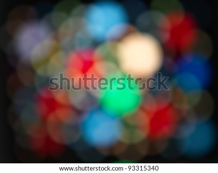 abstract background, made of colorful blurry lights