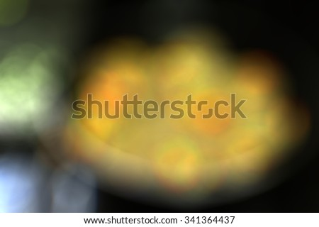 Abstract background of blured sea food