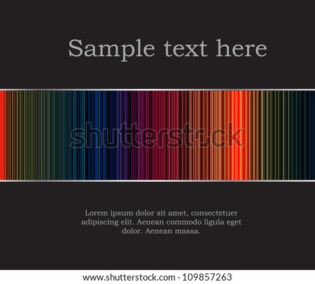 Abstract background  raster version illustration