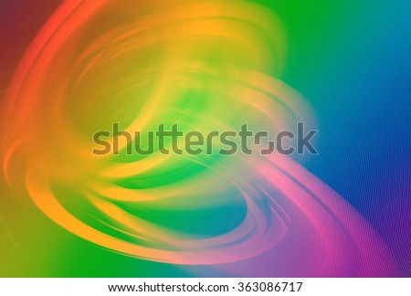 Abstract background with colorfull  circles