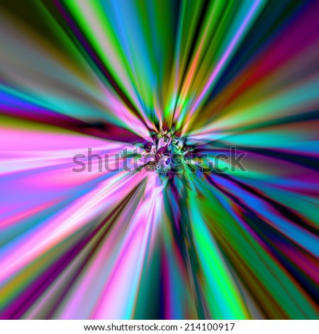 abstract background with rays radiating from the center